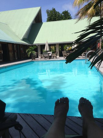 Indian Ocean Lodge: piscine