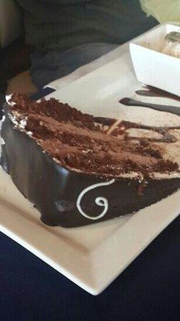 The Coachman Restaurant: Awesome Greek chocolate cake
