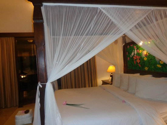 Puri Mas Boutique Resort & Spa: lit
