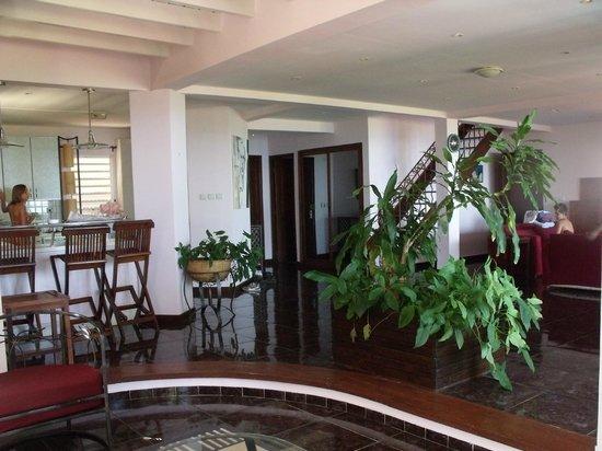 Villas les Orchidees: vue d'un coin du salon