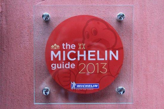 Statholderens Mat & Vinkjeller: Michelin 2013