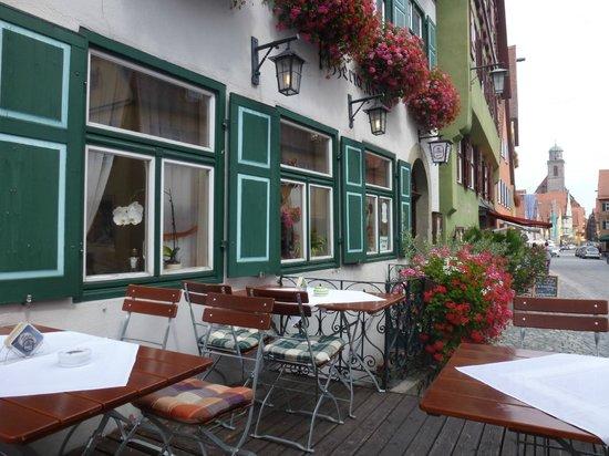 Hotel Restaurant Zum Koppen: Il dehor 2