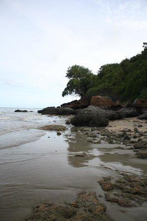 Cosy Beach Hotel: пляж во время среднего отлива