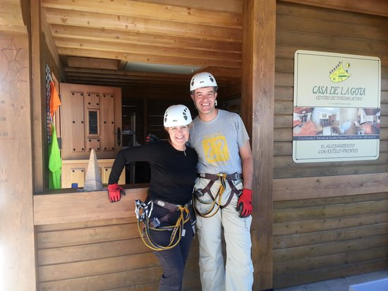 El Robledal del Oso - Parque de aventuras : diversion a tope