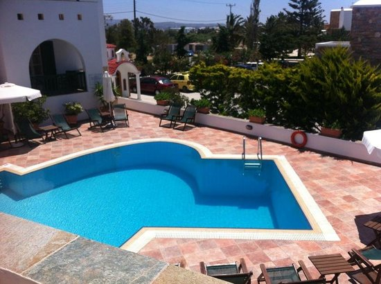Hotel Spiros: View from terrace
