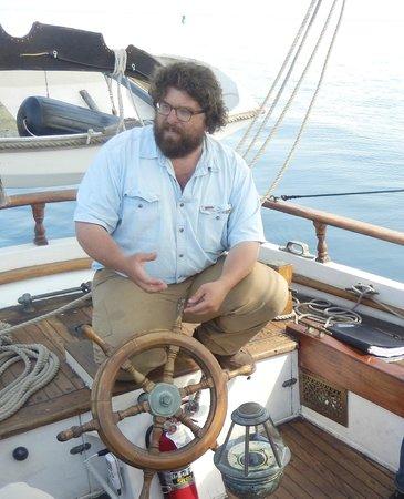 Superior Odyssey Sailing Charters: Cap'n Nico