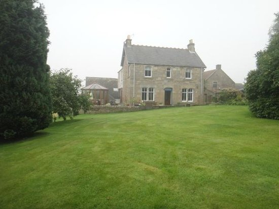Wester Dura B&B & Cupar accommodations: view from garden