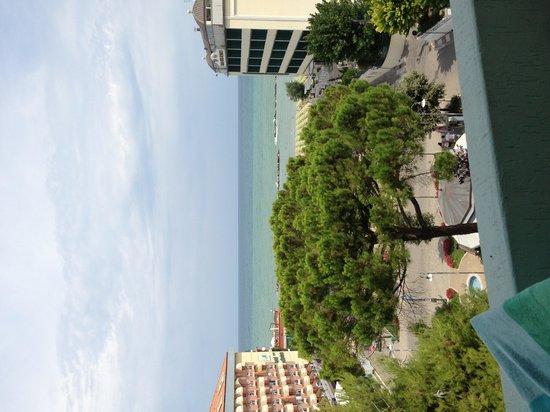 Losanna Hotel: Vista dalla camera lato mare