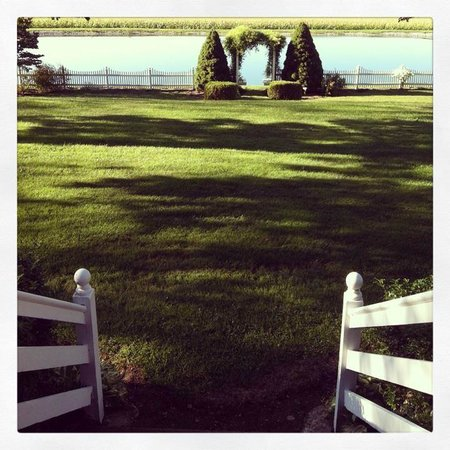 Clearview Farm Bed and Breakfast: this is where i sat and sipped my morning coffee.. breathtaking