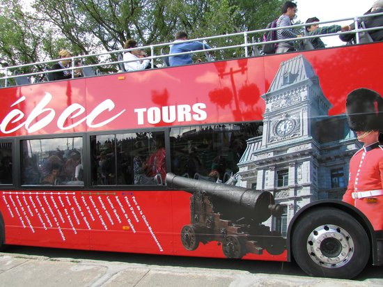 Old Quebec Tours: VIEW OF BUS