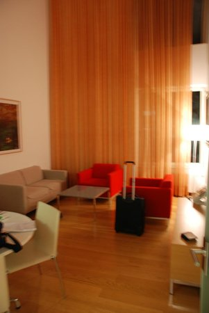 andel's by Vienna House Prague: angolo salotto
