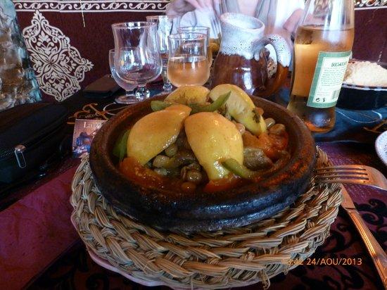 La Médina : Tajine pomme/raisin