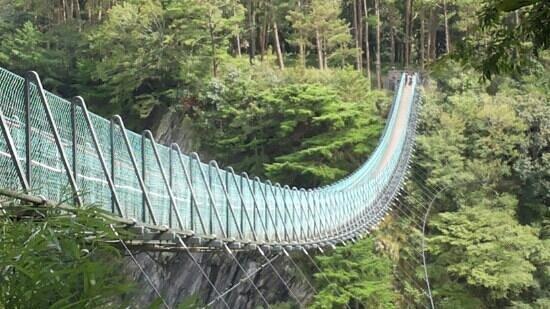 Ren'ai Township, Nantou: 奧萬大吊橋