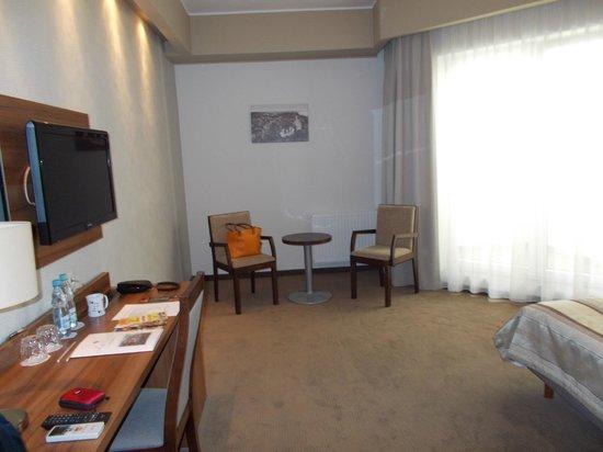 Hotel Centrum Malbork: Sitting Area plenty