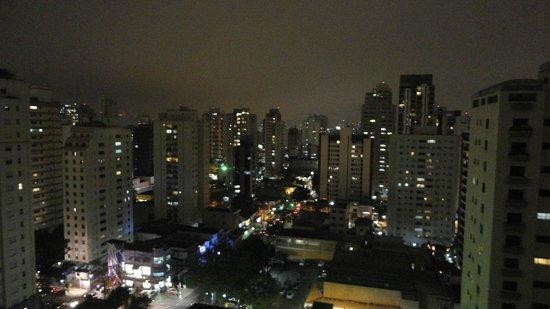 Estanplaza Ibirapuera: Visão noturna - 15º Andar