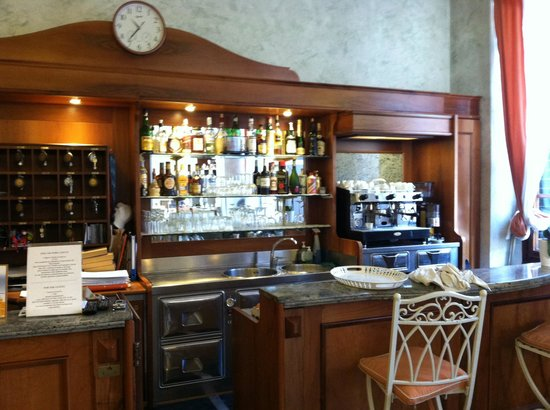 Hotel Giglio : Registration and Coffee Area