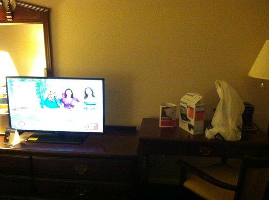 Ramada New Hartford: Flat Screen TV