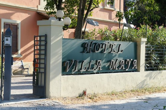 Hotel Villa Maya: entrance