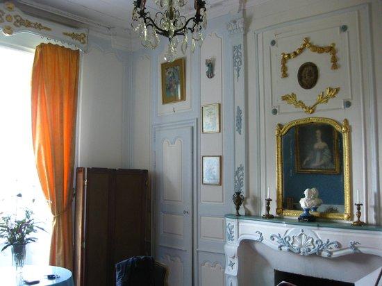 Chateau de la Vigne: la chambre bleue 18 ème