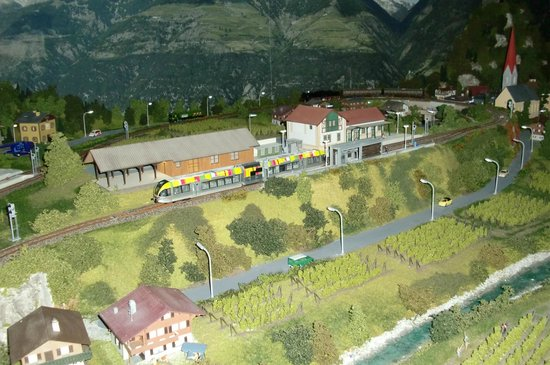 Eisenbahnwelt: Landschaft