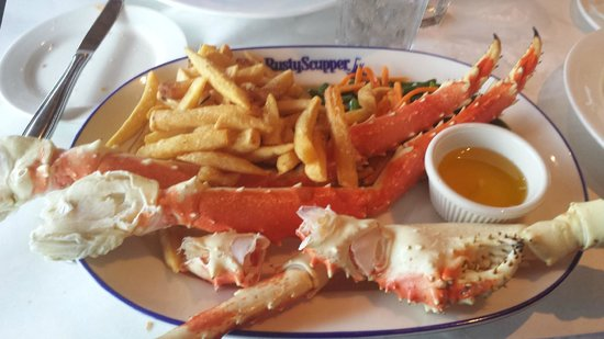 Rusty Scupper : King Crab Legs