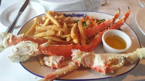 Rusty Scupper: King Crab Legs