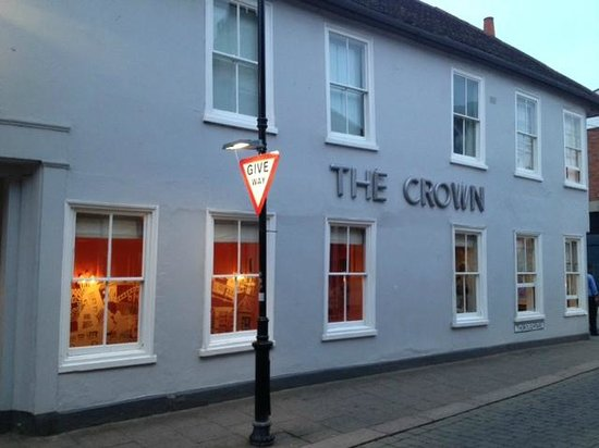 The Crown at Woodbridge: Outside 1