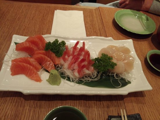 Sasa Sushi: Sashimi selection
