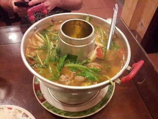 Van Loc Restaurant: Hot pot