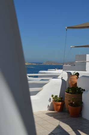 Yades Suites-Apartments-SPA: View from the terrace