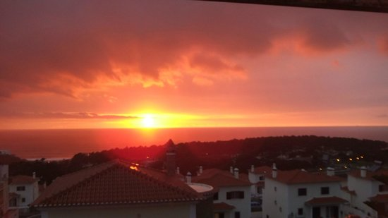 Hotel Camarao: Sunset in Ericeira