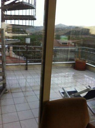 Hotel Jollino: solarium.... micro!!!