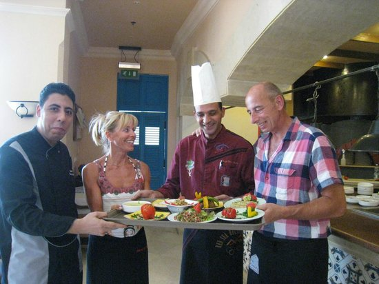 The Bay View Resort Taba Heights : Cooking Class