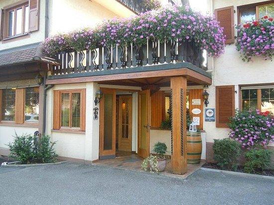 Landgasthof Rebstock: ingresso hotel