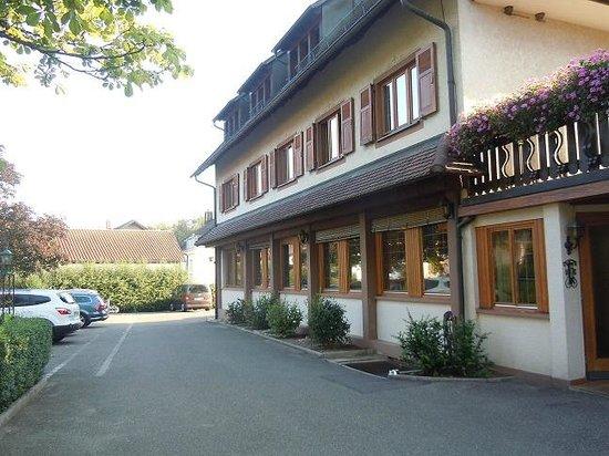 Landgasthof Rebstock: parcheggio