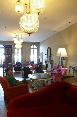 Best Western Plus Hotel D'Europe Et D'Angleterre : salon