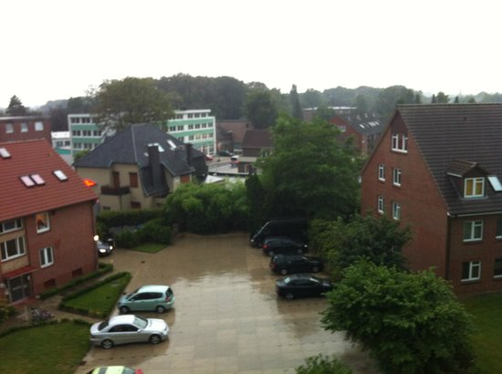 Hotel Wilhelm Busch: view from the window