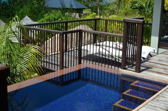 Raffles Seychelles: Patio