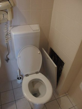 Hotel Pax : toilet