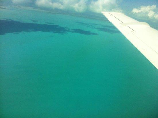 Manta House: Flight from Provo to Grand Turk