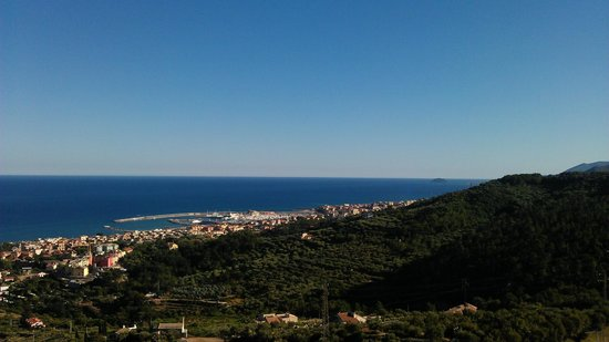 Hotel Ca'Ligure: view from private balcony