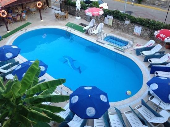Rose Apartments: big pool