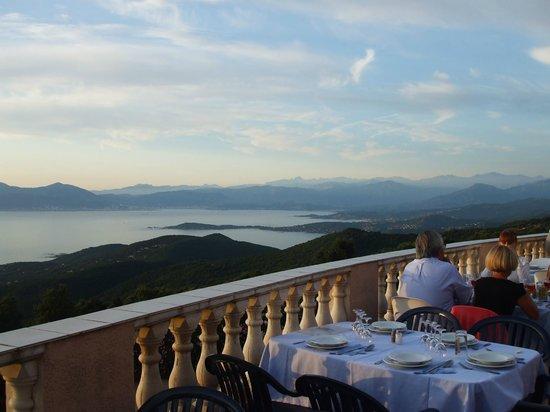 Hotel Le Belvedere: Terrasse du restaurant