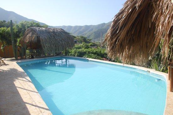 Casa Los Cerros Taganga: Elle est vraiment comme ça, la piscine !