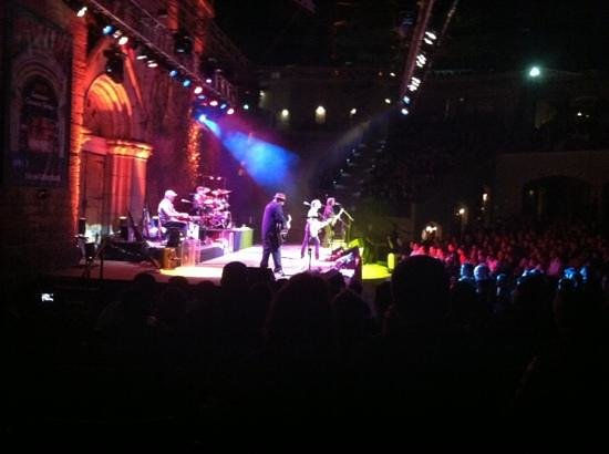 The Mountain Winery : from section 2