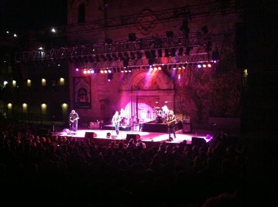 The Mountain Winery: from in front of the GA section