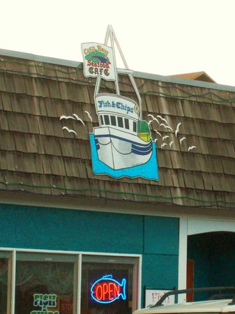 Cozy Bay Fish 'n Chips: Outdoor Sign