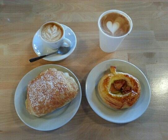 Velocity: Fantastic coffee and pastries.