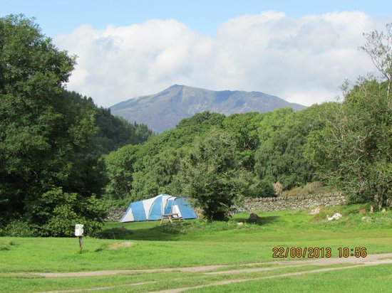 Rynys Farm Camping Site: view