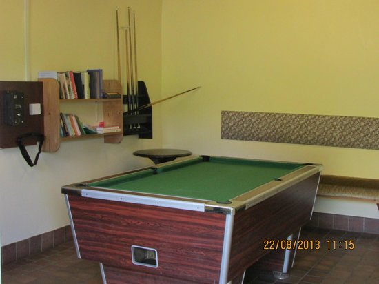 Rynys Farm Camping Site: pool room